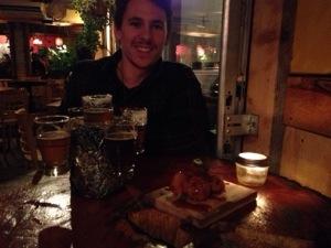 Friday night beer at La Souche.